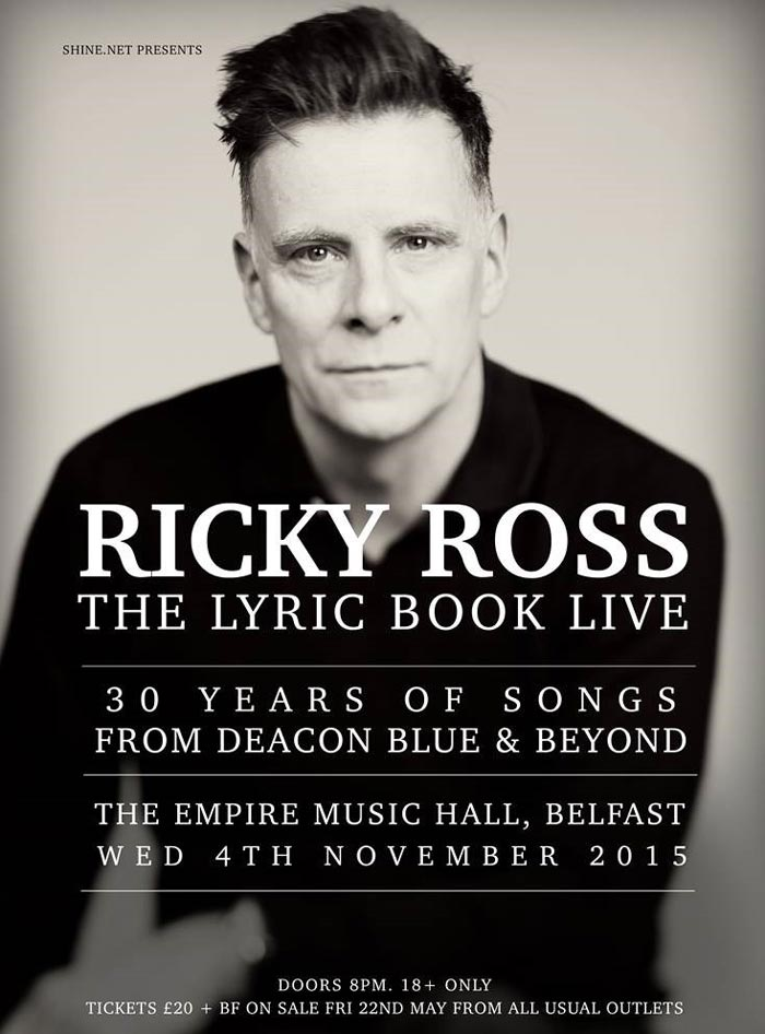 Ricky Ross in Ireland