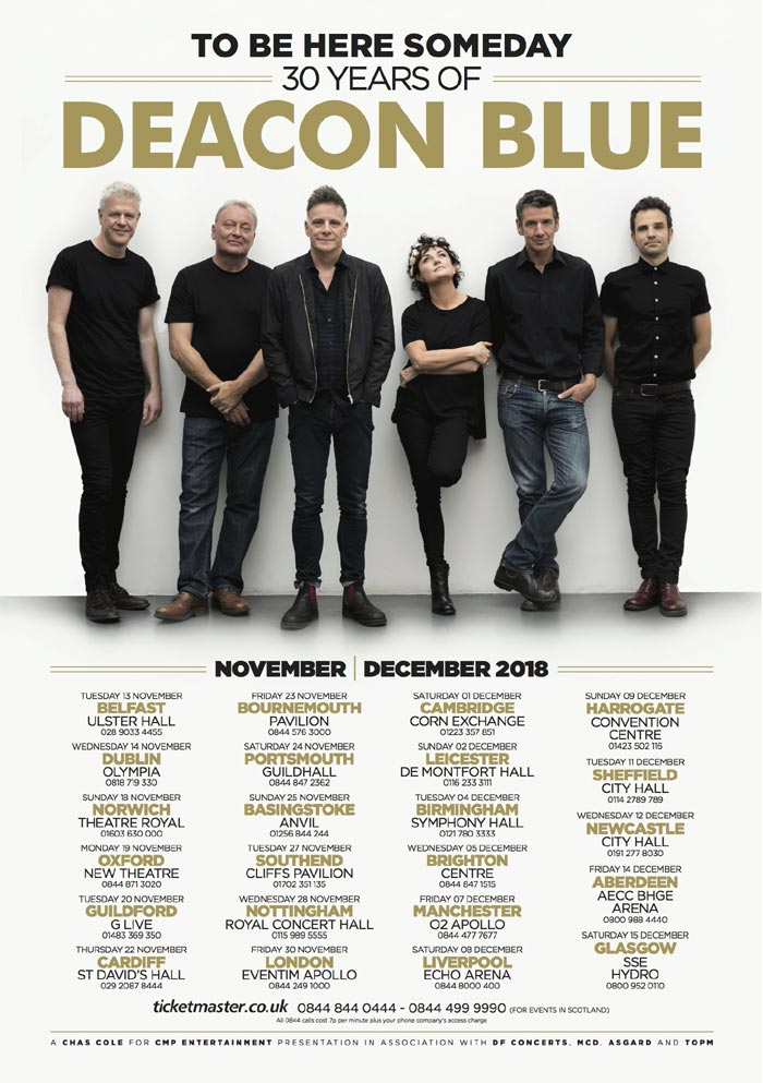 Image result for deacon blue glasgow hydro 2018